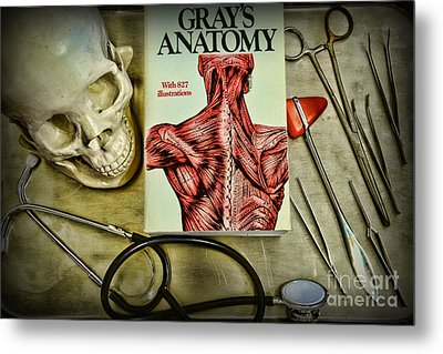 Physician - Tools Of The Trade Metal Print by Paul Ward
