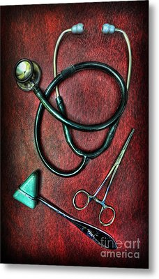 Physician's Tools  Metal Print by Lee Dos Santos