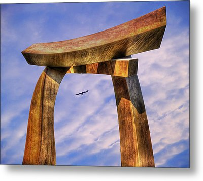 Pi In The Sky Metal Print
