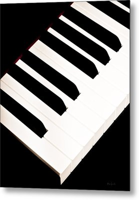 Piano Metal Print by Bob Orsillo
