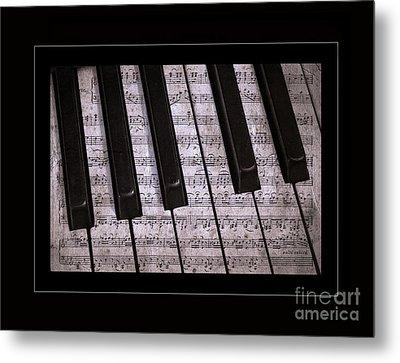 Pianoforte Classic Metal Print by John Stephens