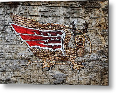 Piasa Bird Metal Print