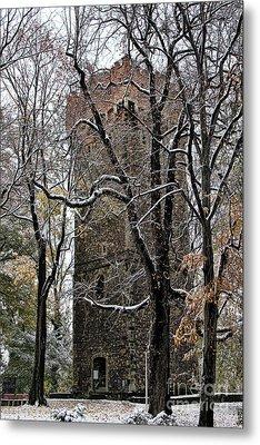 Piastowska Tower In Cieszyn Metal Print