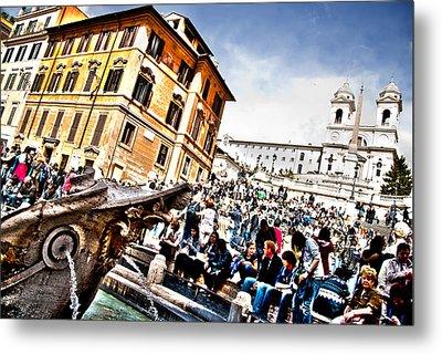 Piazza Di Spagna Metal Print by Francesco Zappala