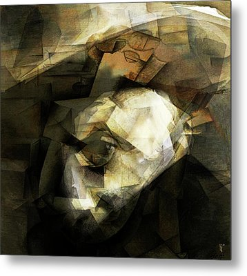 Picasso Metal Print by  Fli Art