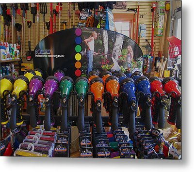 Pick A Color  Any Color Metal Print by Kym Backland