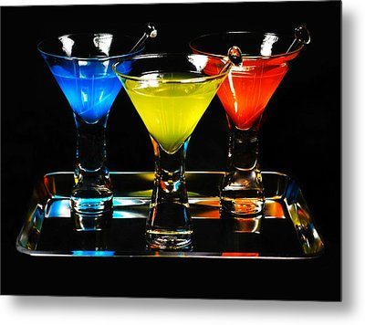 Pick Your Poison Metal Print by Diana Angstadt