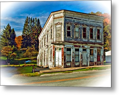 Pickens Wv Painted Metal Print by Steve Harrington