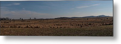 Picketts Charge From Seminary Ridge Metal Print by Joshua House