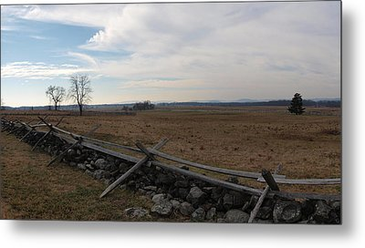 Picketts Charge The Angle Metal Print by Joshua House