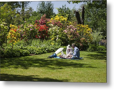 Summer Picnic Metal Print by Spikey Mouse Photography