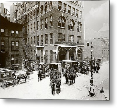 Picture 1 - Michigan Avenue 1901 Metal Print