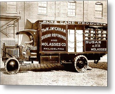 Picture 10 - New - Molasses Truck - Wide Metal Print by Darlene Kwiatkowski