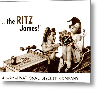 Picture 17- New- The Ritz James Metal Print