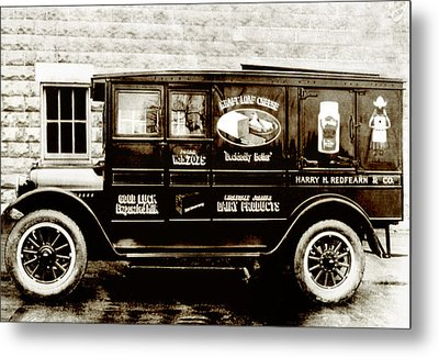 Picture 9 - New - Redfern Delivery Truck - Wide Metal Print by Darlene Kwiatkowski