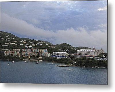 Picture Perfect Saint Thomas  Metal Print by Willie Harper