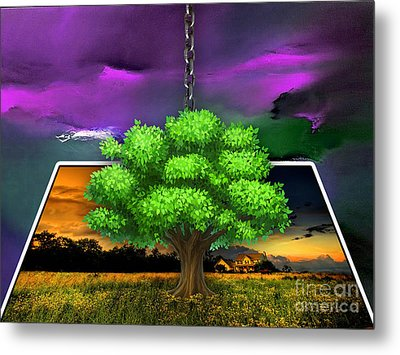 Picture This Metal Print by Marvin Blaine