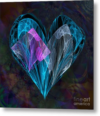 Piece Of My Heart Metal Print