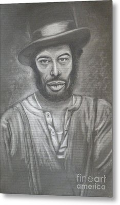 Gil Scott Heron - Pieces Of A Dream Metal Print by Carol Northington