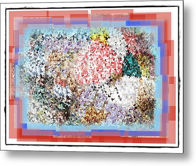 Pieces Of April Metal Print by Bill Cannon
