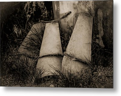Metal Print featuring the photograph Pieces Of The Windmill by Amber Kresge