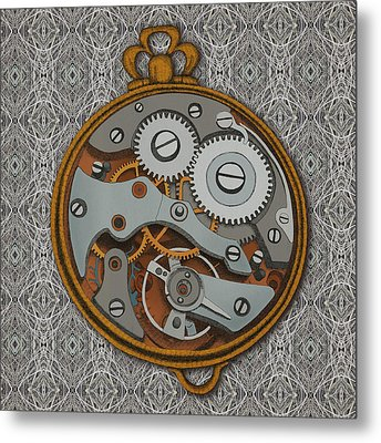 Pieces Of Time Metal Print by Meg Shearer