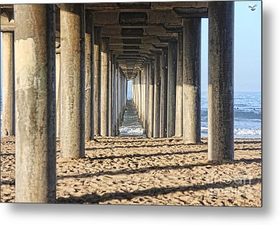 Pier Metal Print by Tammy Espino