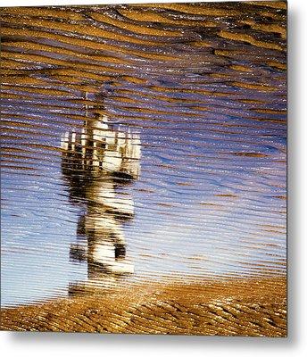 Pier Tower Metal Print by Dave Bowman