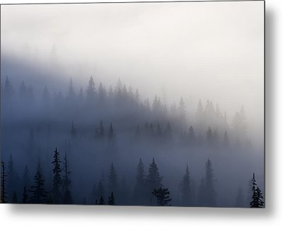 Piercing The Veil Metal Print by Mike  Dawson