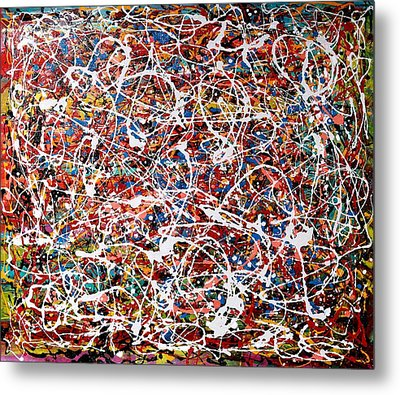 Pietyz Pollock - In Search Of Love Metal Print