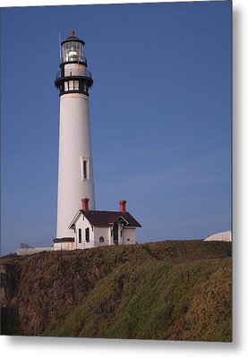 Metal Print featuring the photograph Pigeon Point Lighthouse #2 by Jim Snyder