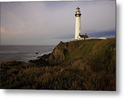 Metal Print featuring the photograph Pigeon Point Lighthouse by Jim Snyder