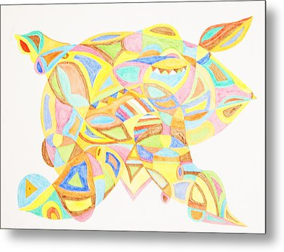Pigs Can Fly Metal Print by Stormm Bradshaw