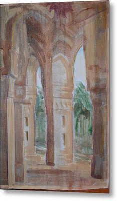Pillar Of Faith Metal Print by Vikram Singh