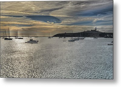 Pillar Point Sunset Metal Print