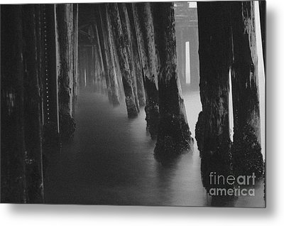 Pillars And Fog 1 Metal Print by Paul Topp