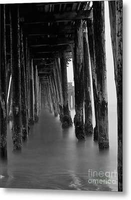 Pillars And Fog 2 Metal Print by Paul Topp