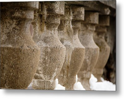 Metal Print featuring the photograph Pillars by Courtney Webster