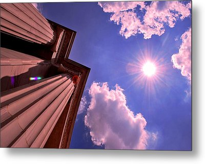 Pillars In The Sun Metal Print by Matt Harang