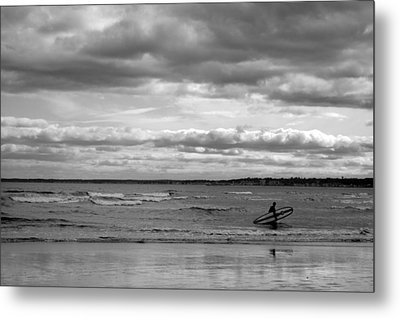 Pine Point Beach Metal Print by Emily Carter