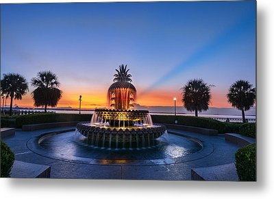 Metal Print featuring the photograph Pineapple Dawn by RC Pics