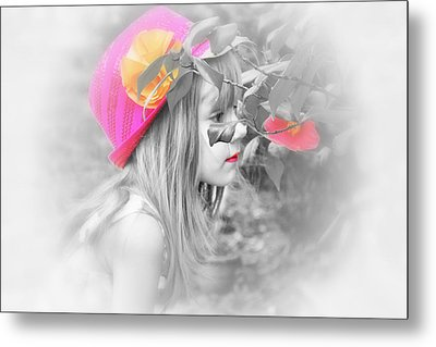 Pink Beauty Metal Print by Kelly Reber