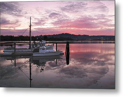 Pink Dawn Metal Print by Suzy Piatt