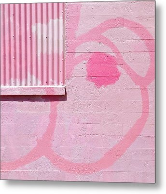 Pink Detail Metal Print by Julie Gebhardt