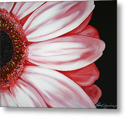 Pink Flower Metal Print by Dani Abbott