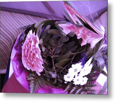 Pink Flowers Metal Print by Gabriele Mueller