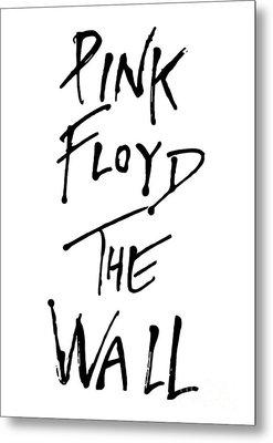 Pink Floyd No.01 Metal Print by Caio Caldas