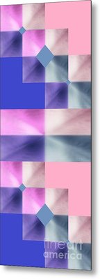 Pink Glow 2 Metal Print