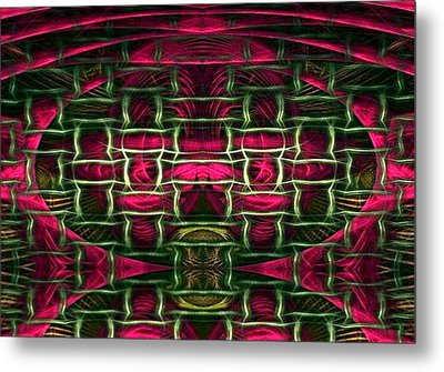 Metal Print featuring the painting Pink Illusion by Rafael Salazar