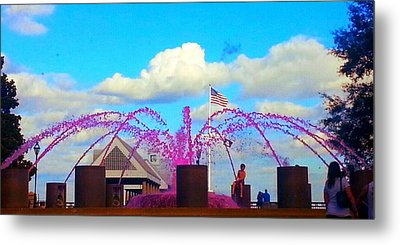 Metal Print featuring the photograph Pink Inspiration For The Cure by Joetta Beauford